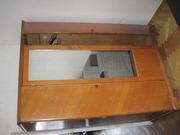 Шкаф 3-х створчатый с зеркалом